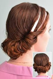 headband tuck 4 prettiest ways to style wet hair page 4