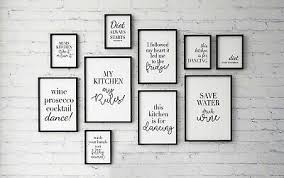 black and white kitchen framed pictures quotes kitchen ideas word a4 black and white modern print ebay