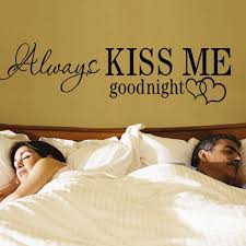 compare prices on wall decals quotes online shopping buy low 1pc family wall sticker sentences kiss me good night wall stickers wall decals quotes decoracion phrases