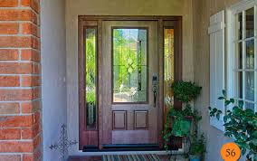 door enthrall glorious how to frame entry door with sidelight