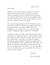 best 25 letter to parents ideas on pinterest kindergarten
