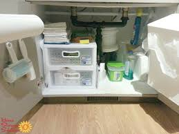 under kitchen sink storage solutions under sink storage kitchen beautiful under kitchen sink cabinet