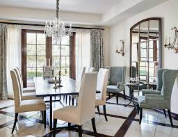 Mirror In Dining Room Ideas Dining Room Mediterranean With Large - Large wall mirrors for dining room