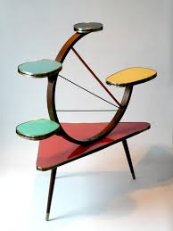 Atomic Home Decor by Mid Century Atomic Plant Stand Ideal Pinterest Mid Century