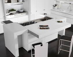 corian cucine cucina laccata in corian皰 con isola essential quadra collezione
