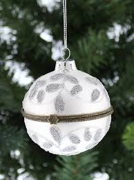 deluxe trinket glass opening bauble christmas tree decoration