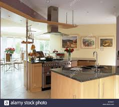 kitchen island worktops granite worktops on island units with integral sink and range oven