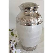 urns for sale cremation urn white pearl cremation urn