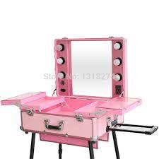 professional makeup lighting portable professional portable makeup vanity with lights fay