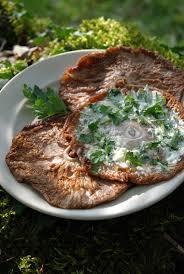 cuisiner des coulemelles coulemelles grillées photo de cueillette cuisine mon grain de sel