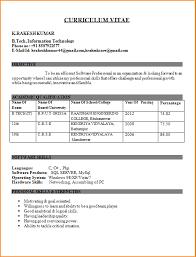 B Tech Fresher Resume 12 Cv For Civil Engg Student Basic Job Appication Letter