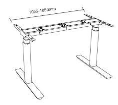 bureau à hauteur variable bureau ou table à hauteur variable électrique ergotechnik