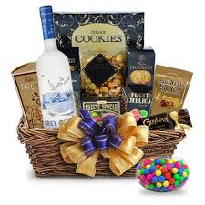 liquor gift baskets buy grey goose original vodka gift basket online vodka gift