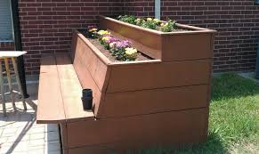 pdf woodwork planter box bench plans download diy plans the