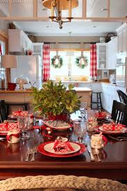 Decoration For Christmas Best 25 Christmas Dining Rooms Ideas On Pinterest Rustic Round