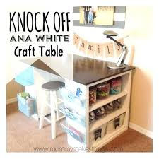 Corner Craft Desk White Craft Desk Bethebridge Co
