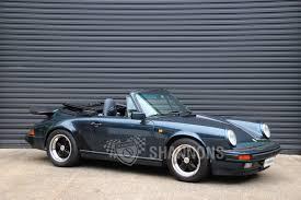 carrera porsche sold porsche 911 carrera 3 2 cabriolet jubilee edition auctions