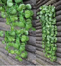 home decor artificial plants lot of 2pcs 35 5 u0027 begonia leaf artificial hanging vine garland
