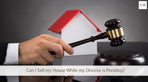 can i sell my house while my divorce is pending youtube