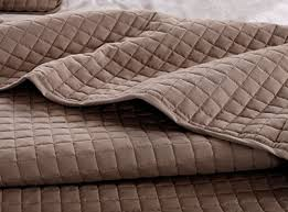 Taupe Coverlet Taupe Solid Color Quilt 90 U2033l 102 U2033w 2 Shams 20 U2033l 26 U2033w