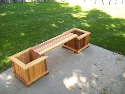 Free Potting Bench Plans Pdf Recycled Metal Eco Friendly Linear Planter Bench Picture On