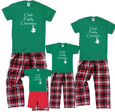 personalized family christmas pajamas christmas 2013 pinterest