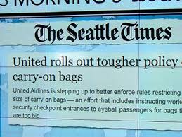 united carry on rules headlines at 8 30 united airlines to enforce tougher carry on