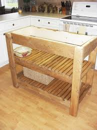 mobile kitchen island ideas kitchen furniture kitchen traditional unstained teak wood