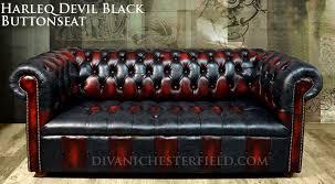 Patchwork Chesterfield - patchwork chesterfield sofa harlequin leather club chair black