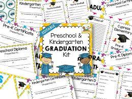 preschool graduation diploma preschool graduation kit pre k pages