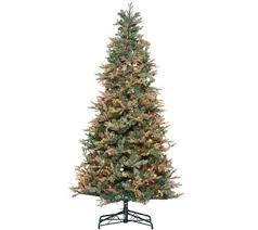 Live Tabletop Christmas Tree With Christmas Decorations Lights by Christmas Trees U2014 Qvc Com