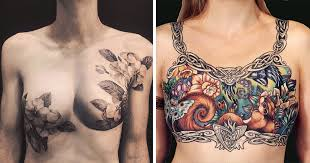 artists cover breast cancer survivors scars with beautiful