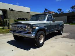 jeep honcho stepside 1973 jeep j4000 4x4 used jeep other for sale in san diego
