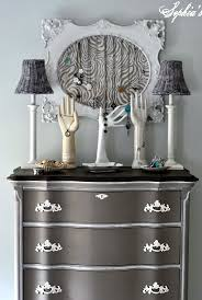Silver Leaf Nightstand Furniture Furniture Metallic Dresser Martha Stewart Silver Leaf Paint