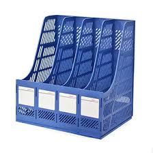 Plastic Office Desk Magazine File Holder Organizer Box Plastic File Holder Office Desk