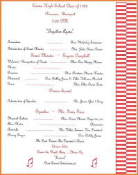 banquet program templates fantastic family reunion program templates photos exle resume