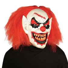 it clown halloween mask totally ghoul carver the clown halloween mask