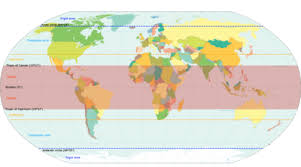 what is a climate map temperate climate