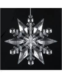 shopping sales on acrylic snowflake ornament 4 75 inch