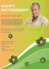 retirement party flyer templates demplates