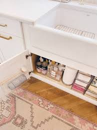 the kitchen sink cabinet organization sink organization how to organize a kitchen