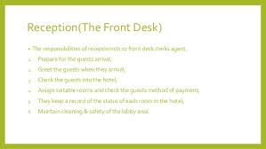 front desk agent duties front office department design by austin