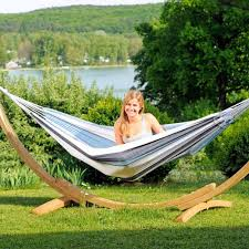 Hammock With Wooden Stand Apollo Garden Hammock And Wooden Stand Spa Living