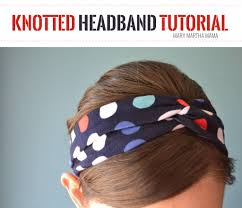 knotted headband diy knotted headband tutorial martha
