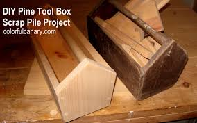 Scrap Wood Projects Plans by How To Make A Simple Wooden Tool Box Scrap Pile Project By Zuki