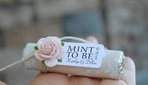 mint to be wedding favors unique wedding favors personalized wedding favors party favors