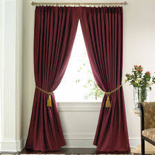 Pennys Drapes J C Penney Polyester Pleated Drapes Ebay