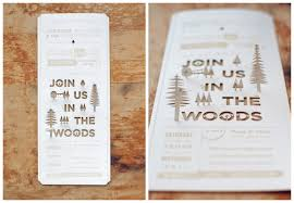rustic creative wedding invitations ipunya