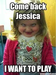 Jessica Meme - back jessica