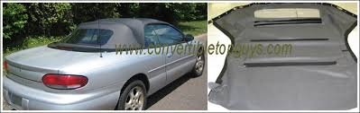 01 mustang convertible top 1996 06 chrysler sebring easy install tops convertible tops and
